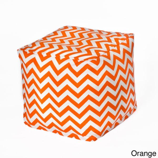 Zig Zag Beanbag Cube