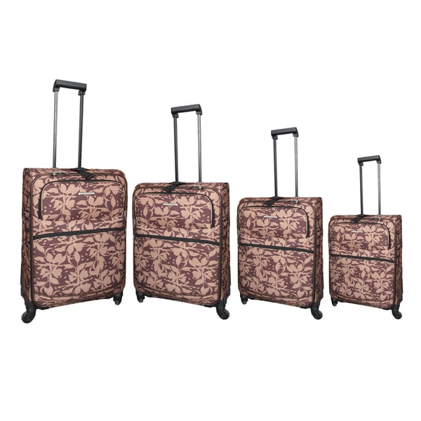 Hercules Bay Creek 4-piece Spinner Luggage Set