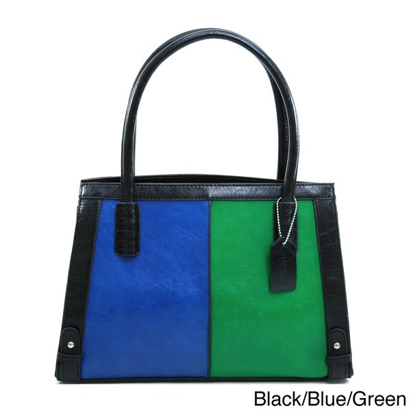 Dasein Women's Colorblock Shoulder Bag