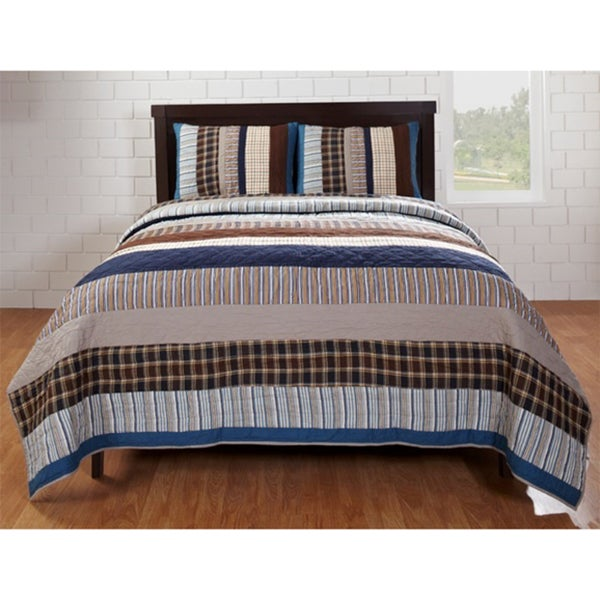 Jacob Cotton Quilt Set