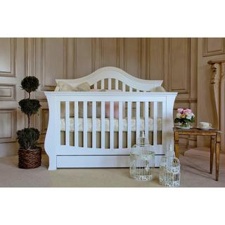 million dollar baby classic ashbury 4in1 convertible crib with toddler rail