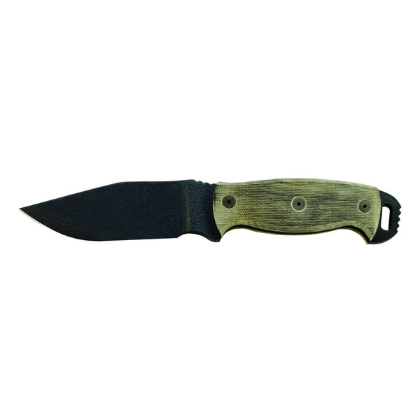 Ontario Knife Co Ranger RD4 Black Micarta Knife