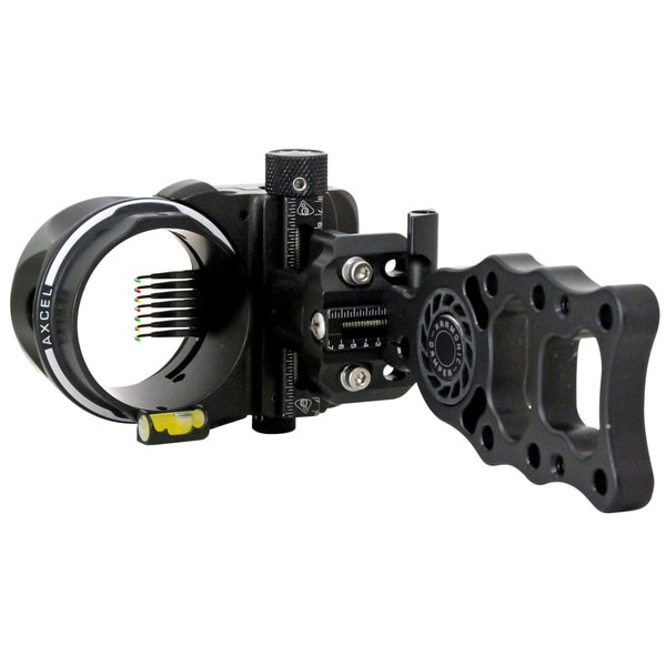 Axcel Armortech HD Black 7-Pin .019 Archery Sight