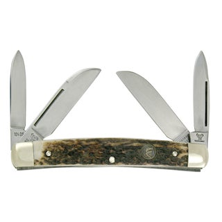 Hen & Rooster Deer Stag Congress German Stainless Steel Pocket Knife