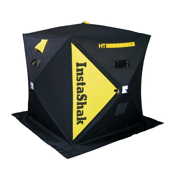 Ht enterprises instashak 2 person ice shelter free for Ht ice fishing