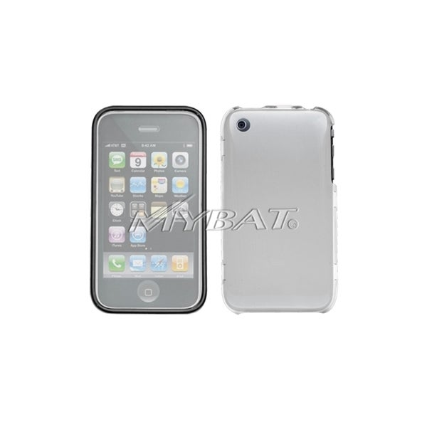 INSTEN T-Clear Phone Case Cover with Lens for Apple iPhone 3GS/ 3G