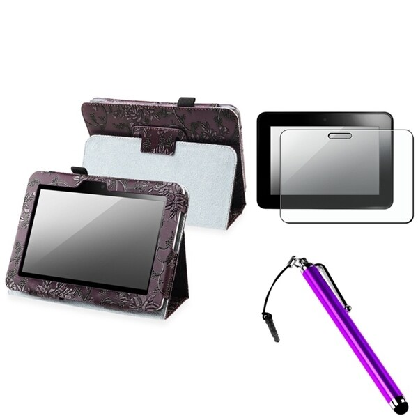 INSTEN Phone Case Cover/ Screen Protector/ Stylus for Amazon Kindle Fire HD 7-inch