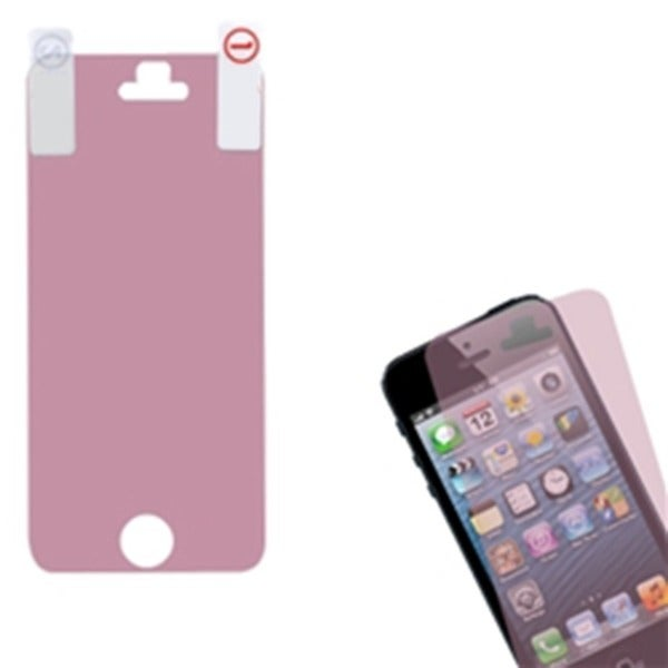 INSTEN Pink Screen Protector for Apple iPhone 5