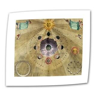 Andreas Cellarius 'Harmonia Macrocosmica' Unwrapped Canvas - Multi