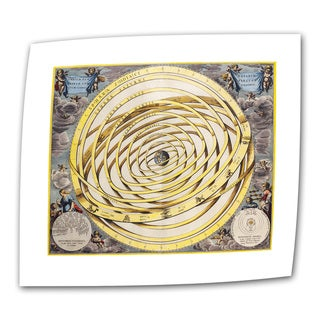 Andres Celarius 'Celestial Map' Unwrapped Canvas - Multi (4 options available)