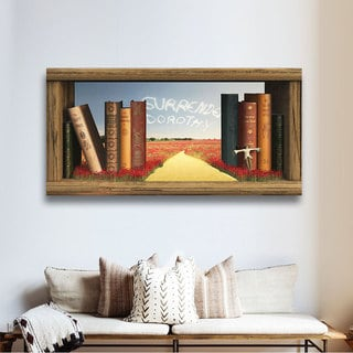 Cynthia Decker 'The Yellow Brick Road' Gallery Wrapped Canvas