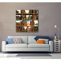 Cynthia Decker 'Story World' Gallery Wrapped Canvas