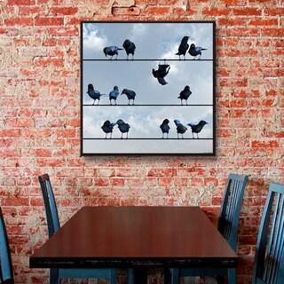 Cynthia Decker 'Showoff' Gallery Wrapped Canvas