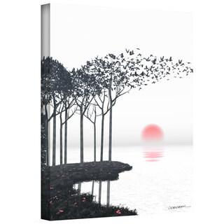 Cynthia Decker 'Aki' Gallery Wrapped Canvas