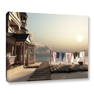 Cynthia Decker 'Laundry Day' Gallery Wrapped Canvas