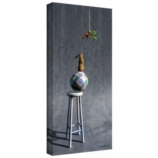 Cynthia Decker 'Equilibrium II' Gallery Wrapped Canvas