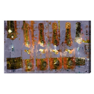 Oliver Gal 'Cristal on Crystal' Canvas Wall Decor