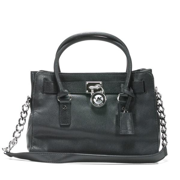 Michael Kors 'Hamilton' Large Leather Satchel Bag