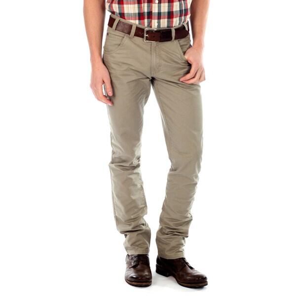 191 Unlimited Men's Khaki Straight Leg Pants