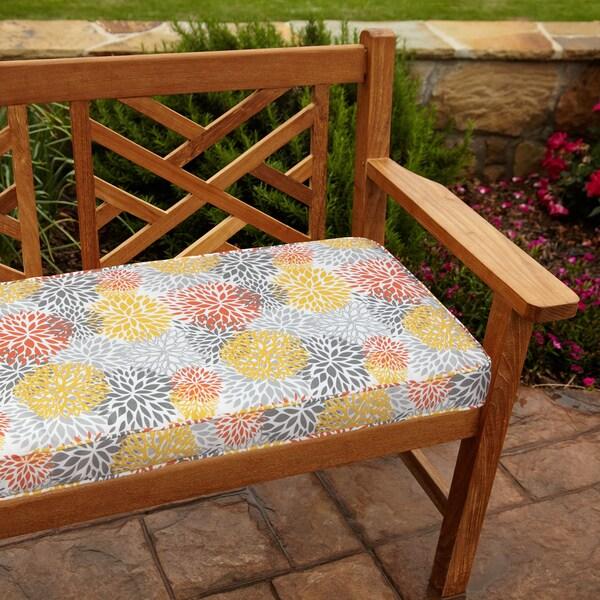 Tango Bloom 48 inch Outdoor Bench Cushion Free Shipping