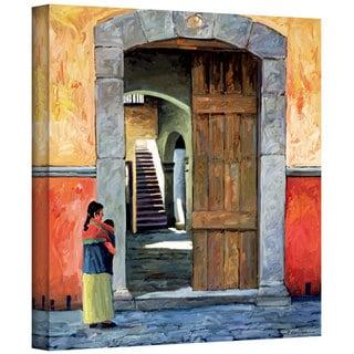 Rick Kersten 'Guanajuato Door' Gallery Wrapped Canvas