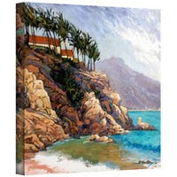 Rick Kersten 'Cabo San Lucas Coast' Gallery Wrapped Canvas - Multi