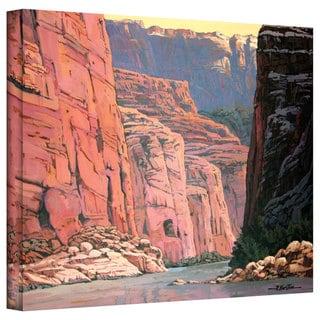 Rick Kersten 'Colorado River Walls' Gallery Wrapped Canvas