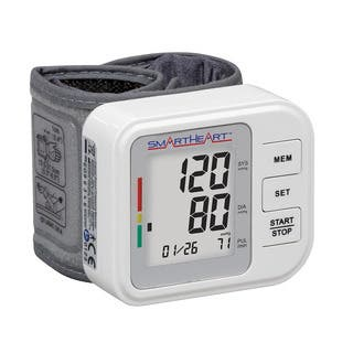 SmartHeart Automatic Digital Wrist Blood Pressure Monitor|https://ak1.ostkcdn.com/images/products/7881723/P15264487.jpg?impolicy=medium