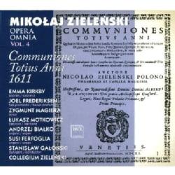 M. ZIELENSKI - POLISH EARLY MUSIC: OPERA OMNIA VOL. 4