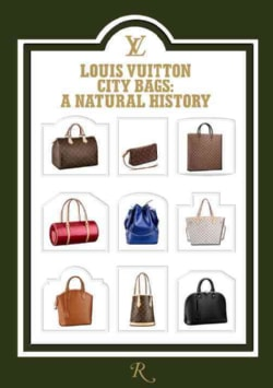Louis Vuitton City Bags: A Natural History (Hardcover)
