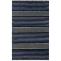 Martha Stewart by Safavieh Harmony Stripe Wrought Iron Wool Rug - 4' x 6'