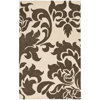 Martha Stewart by Safavieh Barcelona Molasses Wool Rug (5' x 8')