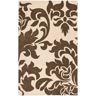 Martha Stewart by Safavieh Barcelona Molasses Wool Rug (8' x 10')