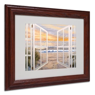 'Elongated Window' Framed Matted Art