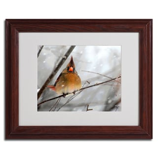 Lois Bryan 'What the....' Framed Matted Art