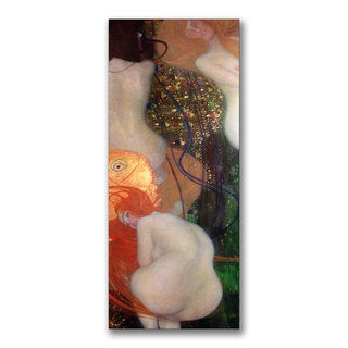 Gustav Klimt 'Goldfish, 1901-02' Canvas Art