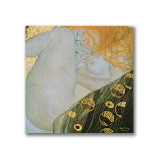 Gustave Klimt 'Danae, 1907-08' Canvas Art