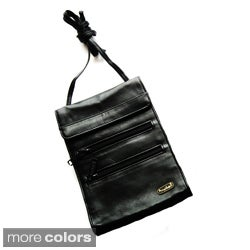 Tanners Avenue Unisex Leather Travel Crossbody Bag