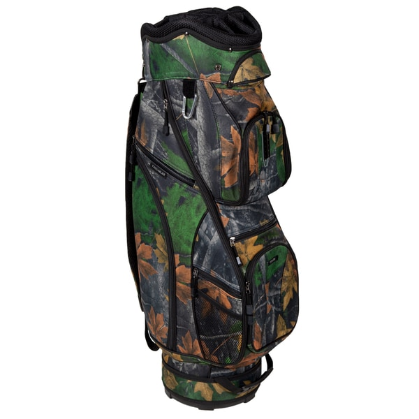 Shop Pinemeadow Hunter Camo Golf Cart Bag - Free Shipping ...