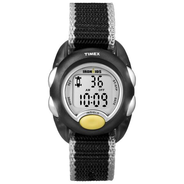 Timex T7B9819J Kids' 'Iron Translucent Black Watch