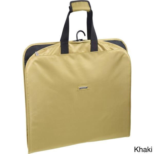 Olive One Size WallyBags 45 Slim Garment Bag