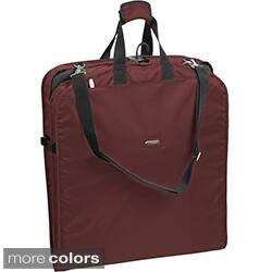 WallyBags 52-inch Shoulder Strap Garment Bag (Option: Red) https://ak1.ostkcdn.com/images/products/7884046/WallyBags-52-inch-Shoulder-Strap-Garment-Bag-P15266592a.jpg?impolicy=medium