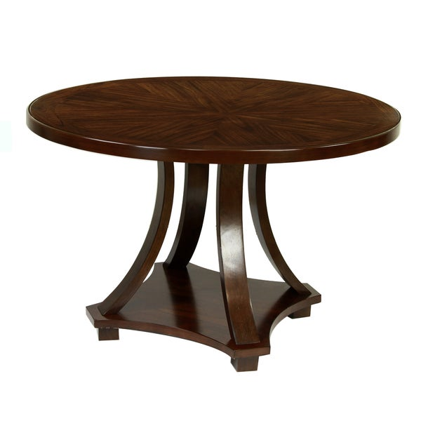 Furniture Of America Briggs Contemporary Dark Walnut 48