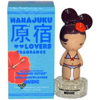 Gwen Stefani Harajuku Lovers Music Sunshine Cuties Women's 0.33-ounce Eau de Toilette Spray (Mini)