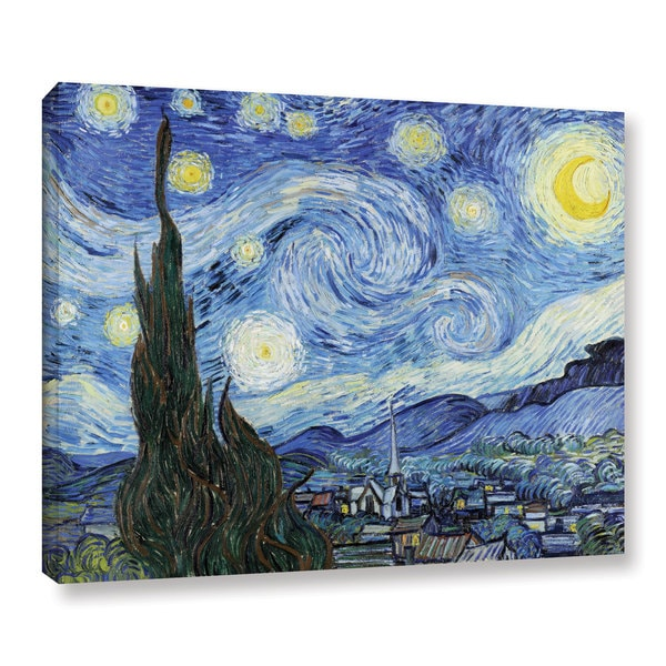 9acdc86866 Shop Vincent van Gogh  Starry Night  Gallery Wrapped Canvas - On ...
