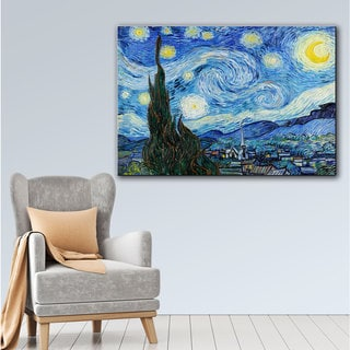 Vincent van Gogh 'Starry Night' Gallery Wrapped Canvas