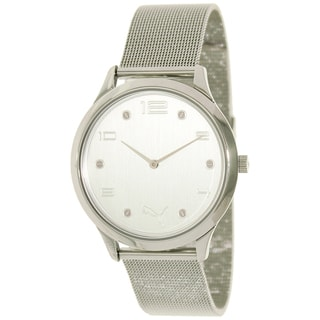 Puma Women's Motor Stainless Steel Mesh Bracelet Watch