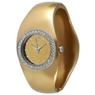 Peugeot Women's Swiss Quartz Goldtone Bangle Watch