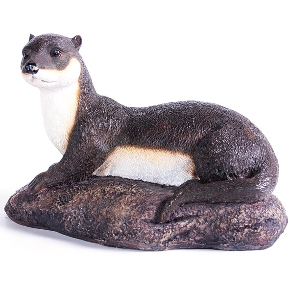 Kelkay Laying Otter Decorative Accent Free Shipping