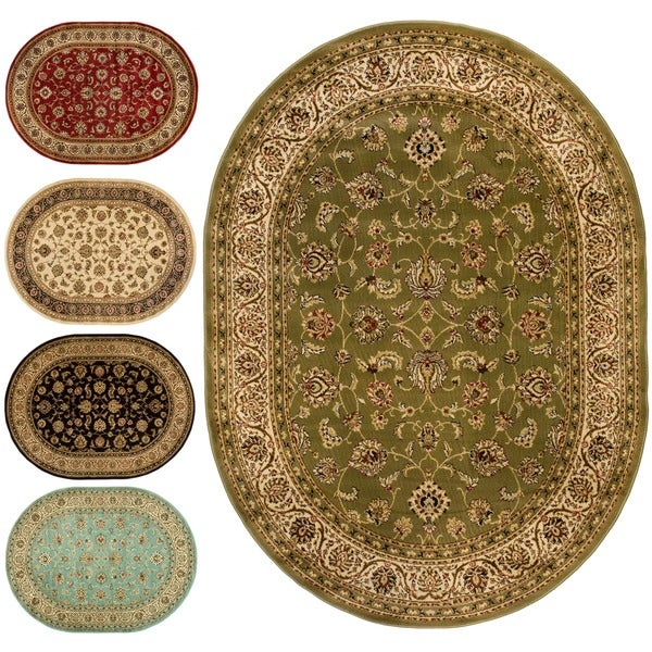 Shop Well Woven Oriental Formal Oval Area Rug